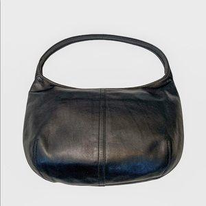 Coach 9219 Small Ergo Black Leather Shoulder Bag